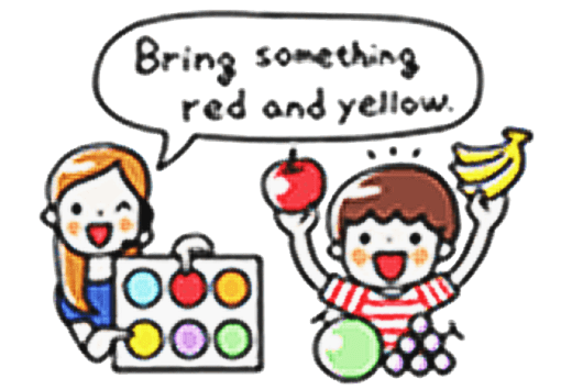 Bring Something Red and Yellow