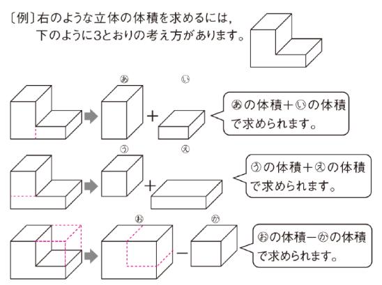 体積】複雑な形の立体|算数|教...
